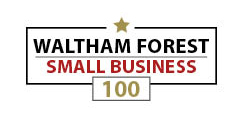 Waltham Forest Small Business 100 logo.